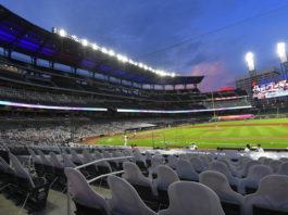The Atlanta Braves' Truist Park will no longer host this summer's MLB All-Star Game as the league acts in response to a new Georgia law that restricts voting rights.                                  John Amis | AP file photo