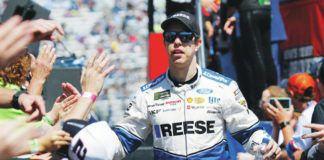 NASCAR Cup Series driver Brad Keselowski has not decided whether or not he will get the vaccine for COVID-19.                                  AP file photo