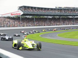 Indianapolis Motor Speedway announced Wednesday it has worked with the Marion County Public Health Department to determine 135,000 fans — 40% of capacity — can attend the Indianapolis 500 on May 30.                                  Darron Cummings | AP file photo