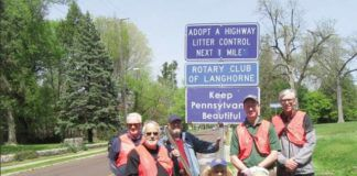 This photo serves as the cover for PennDOT's Roadside Beautification Manual.                                  PennDOT