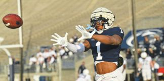 Jaquan Brisker started a run of three safety prospects in four years at Lackawanna College to commit to play at Penn State. Brisker was part of the 2019 class and was followed by Ji'Ayir Brown in 2020 and now Tyrece Mills has pledged for 2022.                                  Penn State Athletics