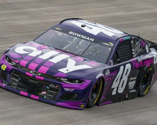 Alex Bowman races during a NASCAR Cup Series race at Dover International Speedway on Sunday in Dover, Del.                                  AP photo