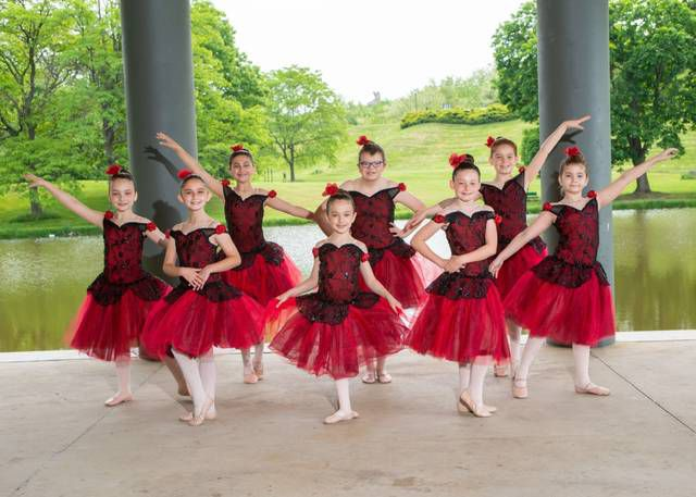 <p>This group of young dancers performed a Spanish number.</p>                                  <p>Andy Molitoris   Photography by Andy.</p>