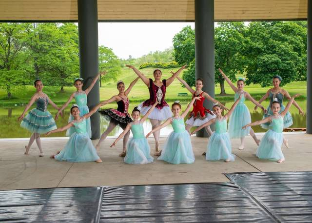 <p>The Dance Theatre of Wilkes-Barre Ensemble poses in the Martz Pavilion at Kirby Park.</p>                                  <p>Andy Molitoris   Photography by Andy.</p>