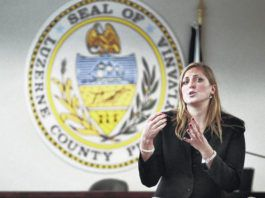State Rep. Tarah Toohil is seen in this file photo. 'Many times you have families that are crying out to the system,' Toohil said Tuesday at a news conference about racial disparities in Pennsylvania's juvenile justice system.                                  Times Leader file photo