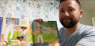 Mike McGinley is seen reading 'You Are Enough' for WVIA's Virtual Storytime.