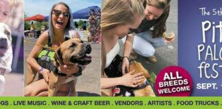 All breeds of dogs are welcome at the fifth annual Pittie Palooza Festival, set for Sept. 19 in Scott Township.