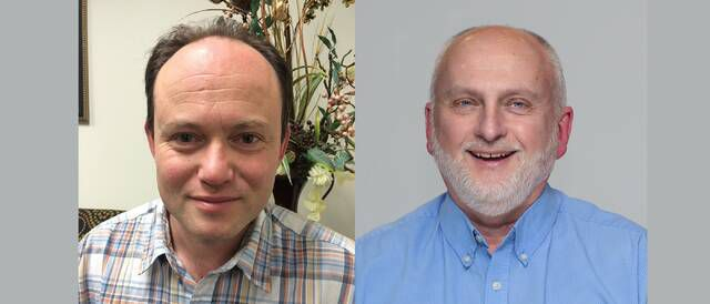 Eugene Gaplerin and James Maroney, associate professors of mathematics and music, respectively, will give the presentation.