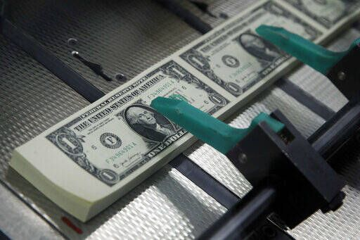 New $1 bills with the signatures of U.S. Treasurer Jovita Carranza and Treasury Secretary Steven Mnuchin are cut and stacked at the Bureau of Engraving and Printing in Washington. Tips for getting rich are everywhere. Friends brag about their latest money moves at parties, while social media influencers tout ways to gain wealth. You might have a little fear of missing out if you don't have your own exciting financial news to share. But growing your net worth doesn't have to be conversation-worthy — in fact, it can be more effective when it isn't.                                  AP photo