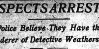Headline in the Wilkes-Barre Record Nov. 26, 1910