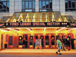 The F.M. Kirby Center for the Performing Arts is seen in a file photo. Joe Nardone's Rock 'N' Roll and Doo Wop performance scheduled for Nov. 6 at the center has been rescheduled to Sept. 24, 2022.                                  Times Leader file photo